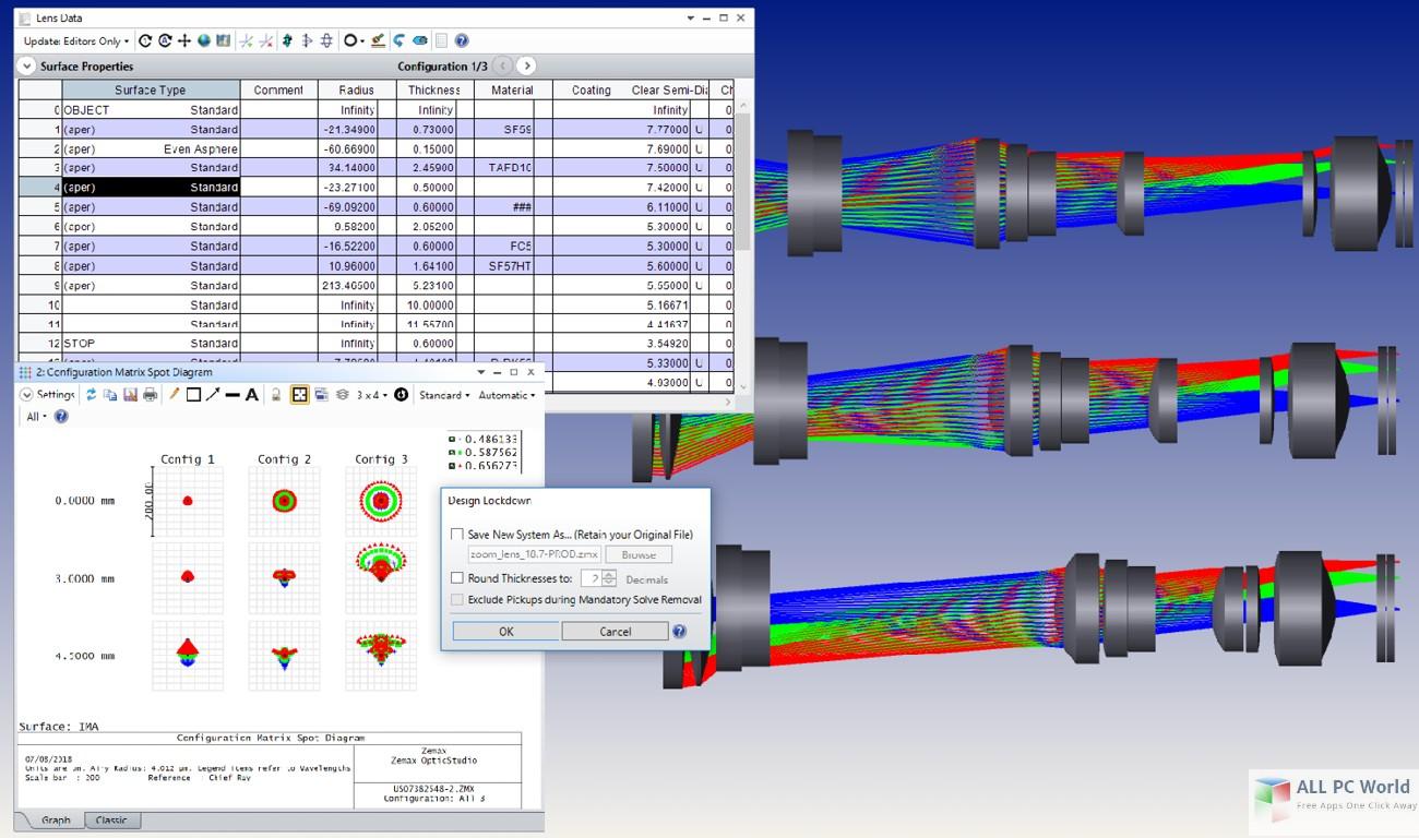 Zemax OpticStudio 18.4 Free Download