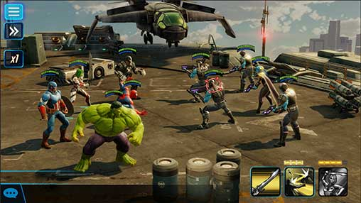 MARVEL Shock Force Apk