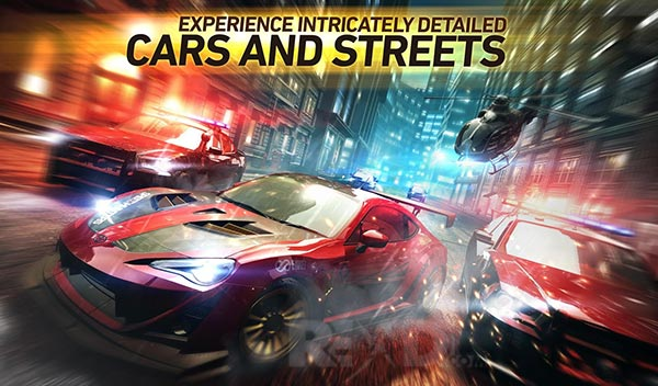 Need for speed without limits Cars and streets
