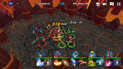 Power Rangers: All Stars Apk