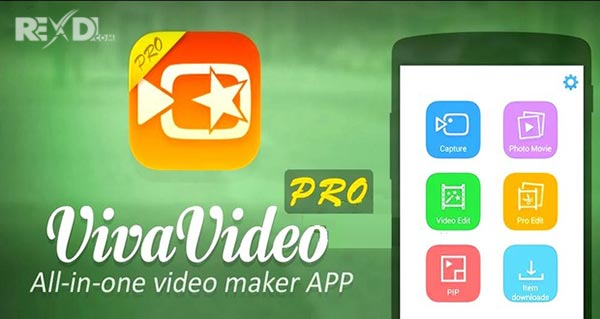 VivaVideo Pro Video Editor for Android application