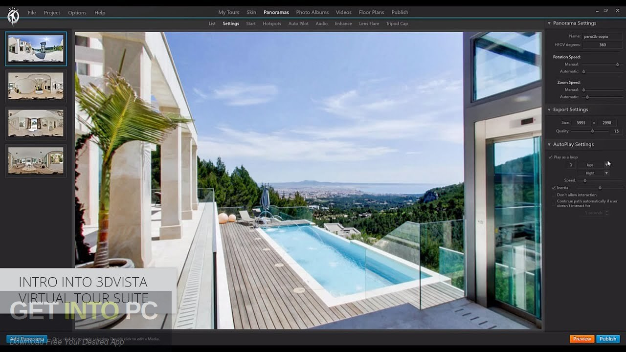 3DVista Virtual Tour Suite 2019 Latest version Download-GetintoPC.com