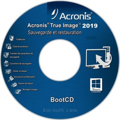 Acronis True Image ISO Download Bootable USB 2019