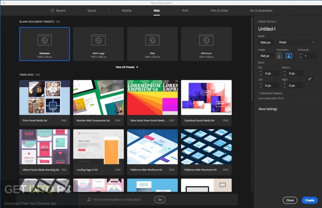 Adobe Illustrator 2018 for Mac Latest version Download-GetintoPC.com