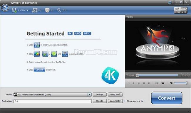 AnyMP4 4K Converter Full Version