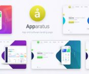 Apparatus v1.2 - multipurpose theme landing on one page