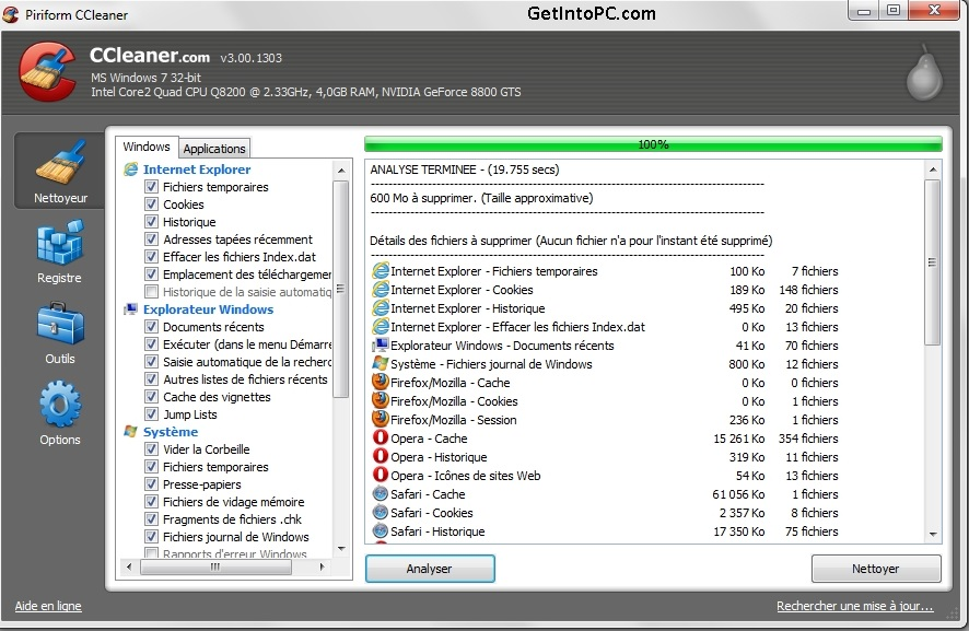 Download CCleaner Free for Windows and Mac