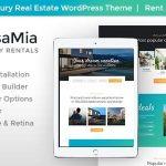 CasaMia v1.1.1 – Property Rental WordPress Theme