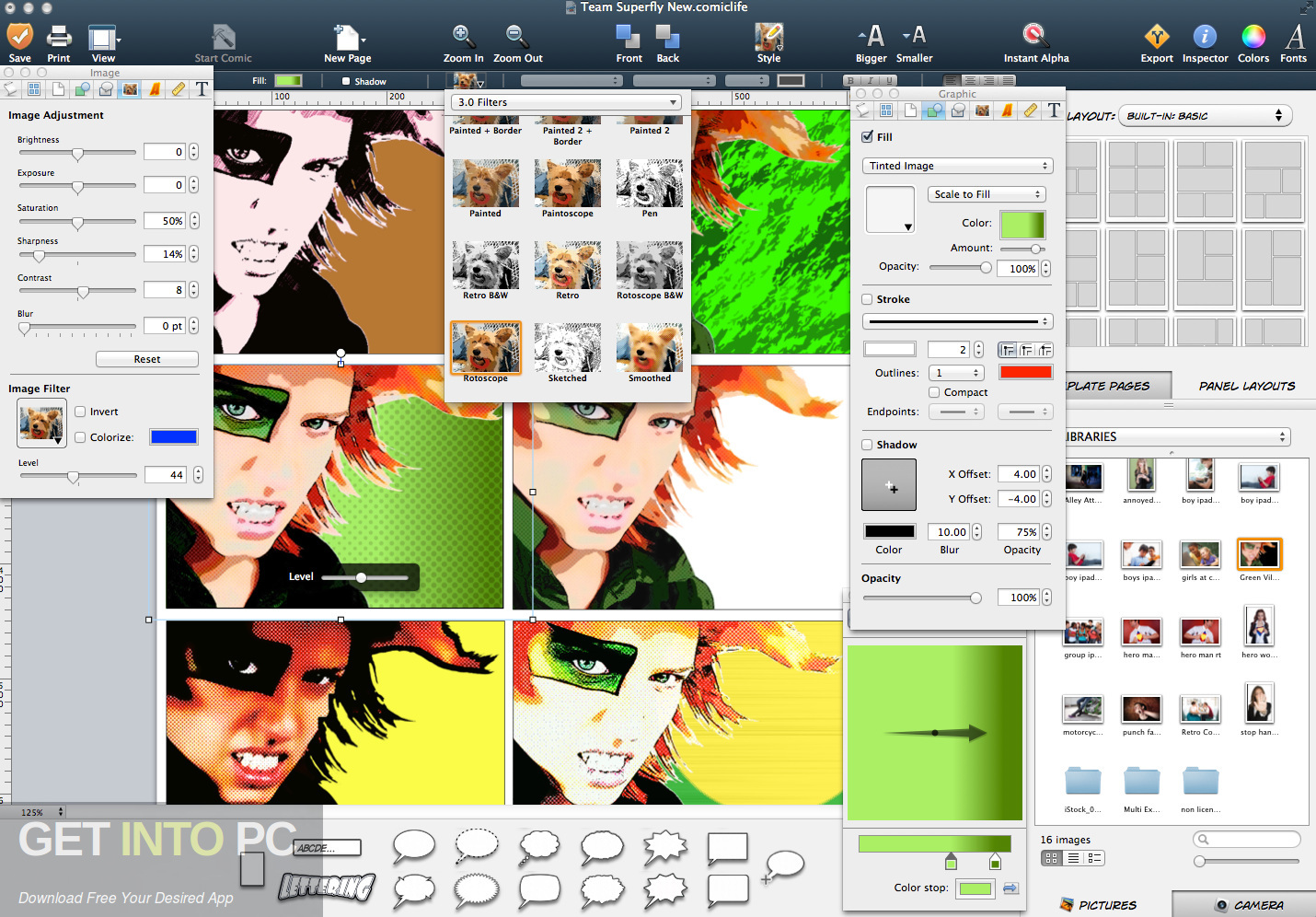 Direct link to Comic Life for Mac Download-GetintoPC.com