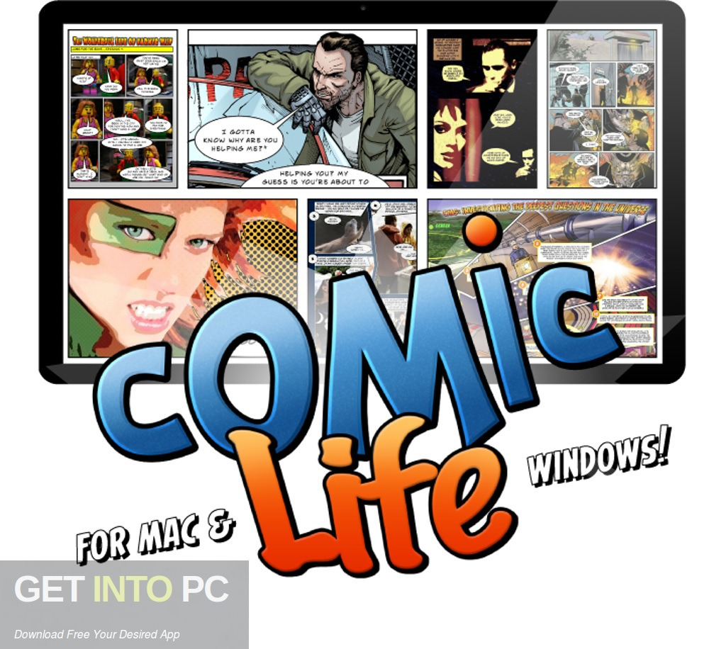 Comic Life for Mac for free. Download GetintoPC.com