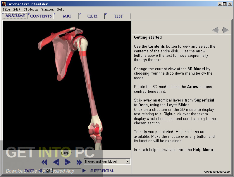 "The complete interactive series of human anatomy ""Primary 3D"" Direct link Download-GetintoPC.com"