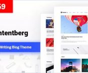 Contentberg Blog v1.5.0 – Content Marketing Blog