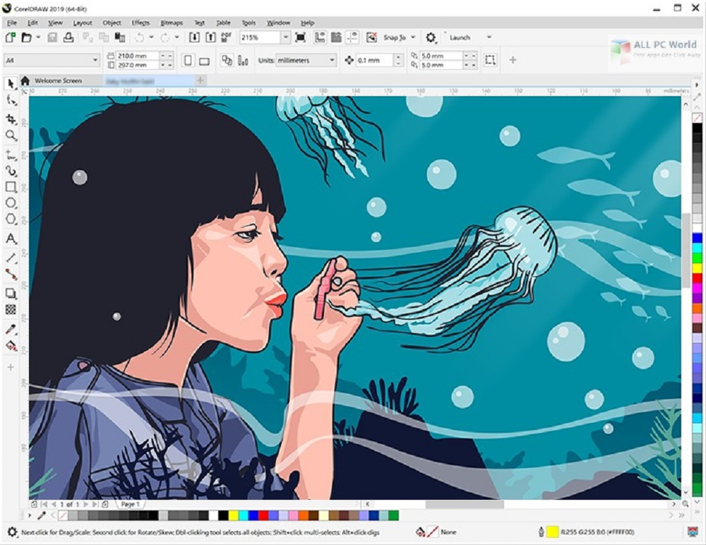 CorelDRAW Graphics Suite 2019 v21.0 download free