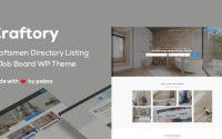 Craftory v1.3.0 – Directory Listing Job Board Theme