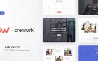 Crework v1.1.2 – Coworking and Creative Space Theme