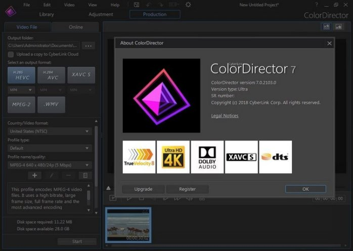 CyberLink ColorDirector Ultra 7 Full
