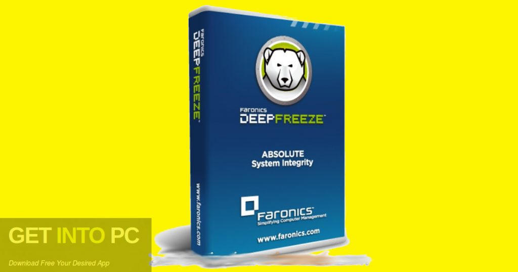 Deep Freeze Standard 8.53 2018 Free Download - GetintoPC.com