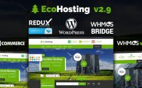 EcoHosting v2.9 – Responsive Hosting and WHMCS Theme