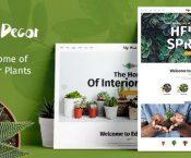 Edge Decor v1.0.1 – A Modern Gardening & Landscaping Theme