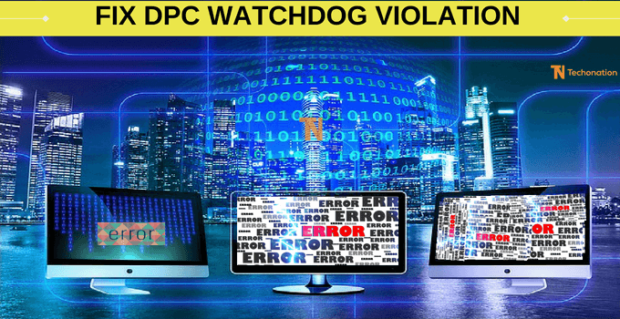 fix watchdog violation dpc