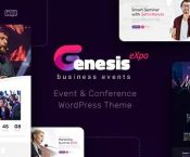 GenesisExpo v1.0.14 – Business Events & Conference Theme