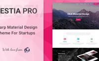 Hestia Pro v2.4.0 – Sharp Material Design Theme For Startups