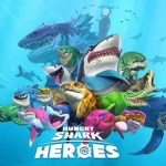 Heroes of hungry sharks