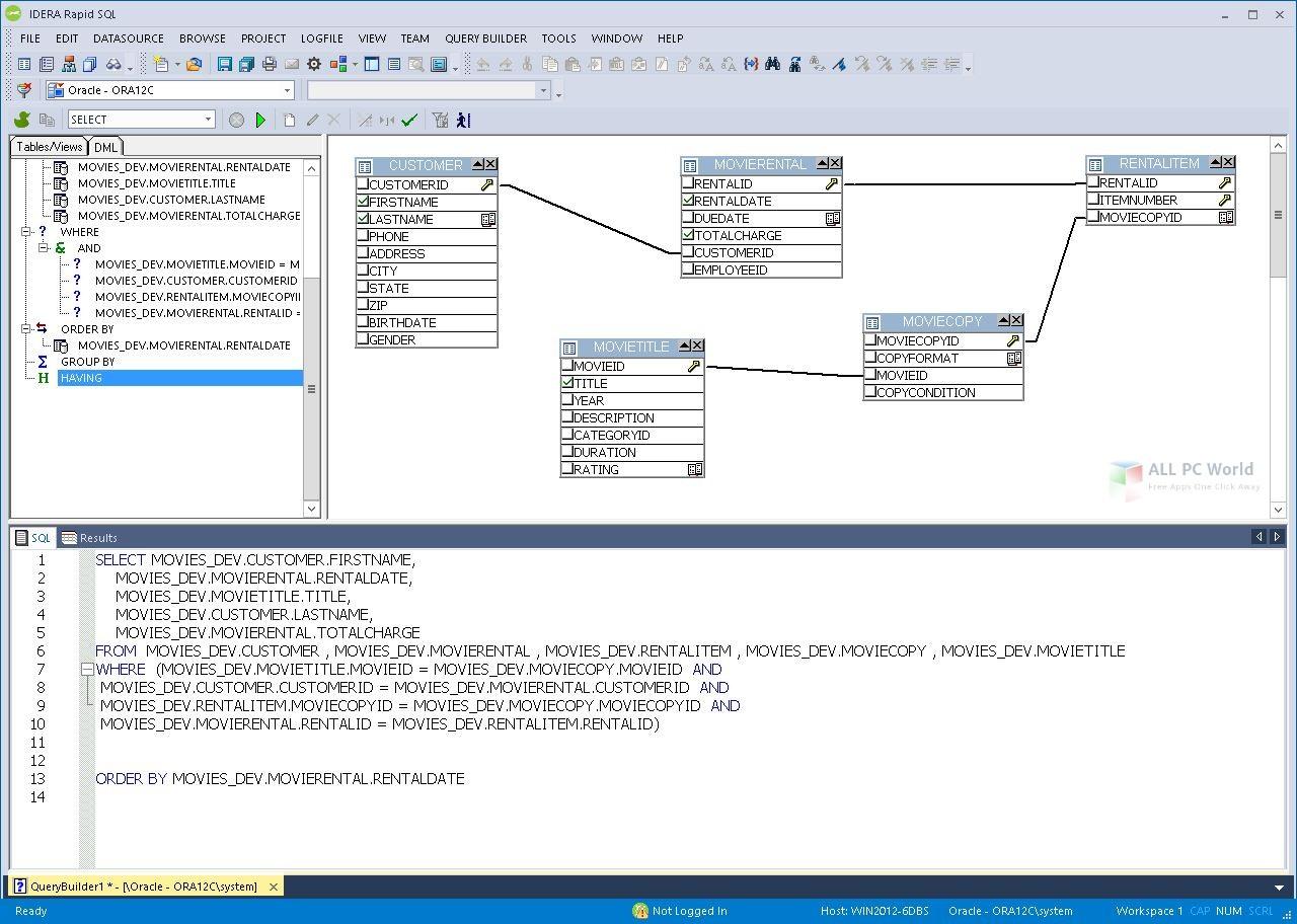 IDERA RapidSQL 17.0 free download