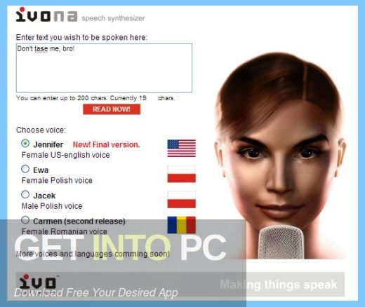 IVONA Text to Speech All Voices Latest Version Download-GetintoPC.com