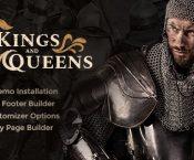 Kings & Queens v1.1 – Historical Reenactment Theme