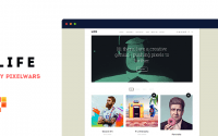 Life v1.0.6 – Boxed Portfolio WordPress Theme