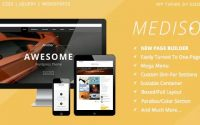 Mediso v1.21 – Corporate / One-Page / Blogging WP Theme