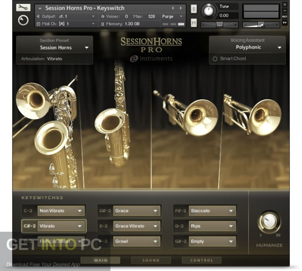 Native tools Session Horns KONTAKT Library Latest version Download-GetintoPC.com