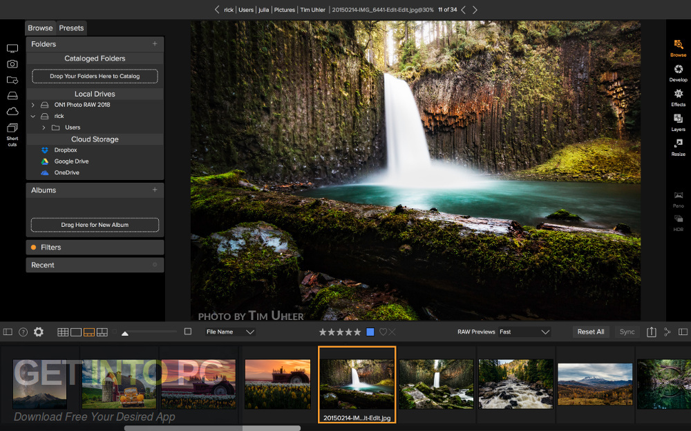 ON1 Photo RAW 2019 Standalone Installer Download-GetintoPC.com