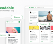 Readable v2.3.1 – Blogging Theme Focused on Readability