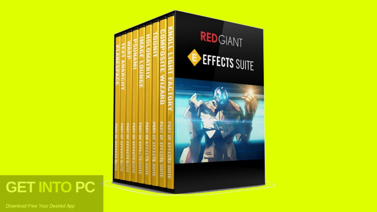 Red Giant Effects Suite Free Download - GetintoPC.com