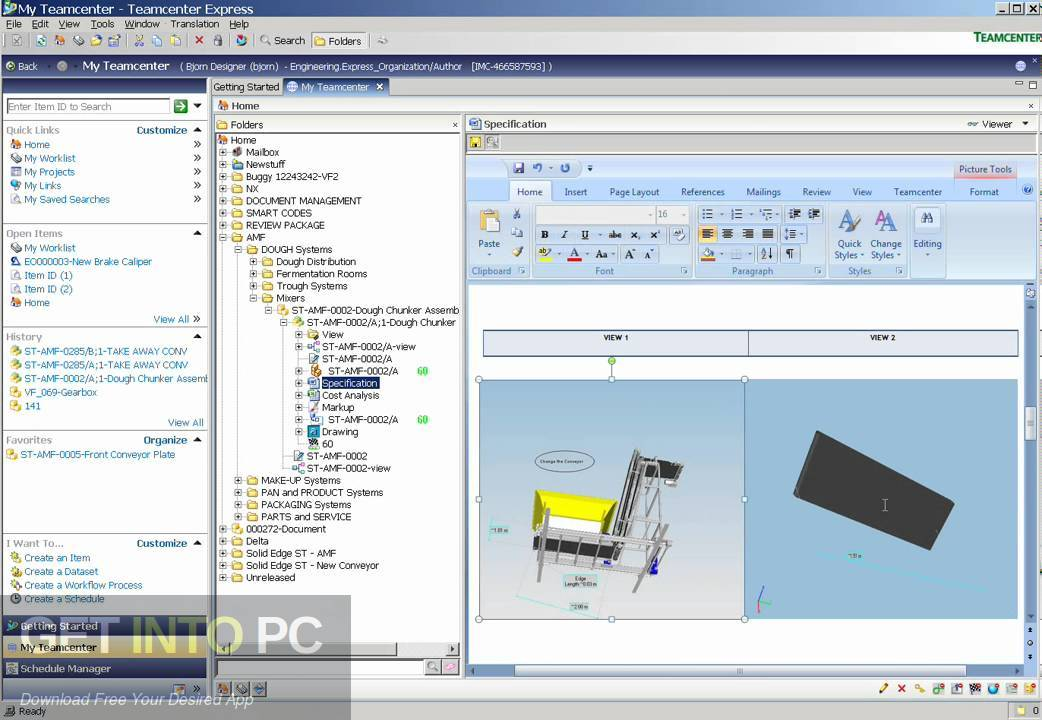 Siemens PLM TeamCenter 9.1 Latest version Download-GetintoPC.com
