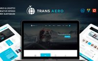 TransAero v1.2.0 – Transport & Logistics WordPress Theme