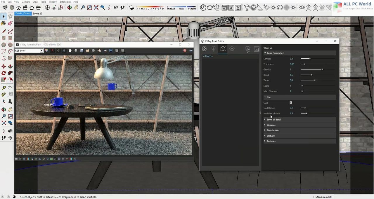 V-Ray 3.6 for SketchUp 2018 free download
