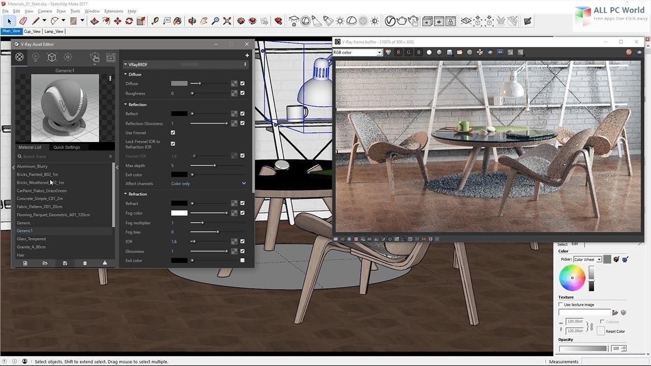 V-Ray 3.6 for SketchUp 2018