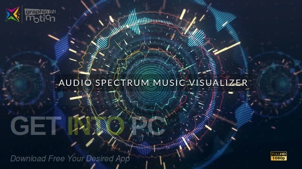VideoHive Music Visualizer Kit for After Effects Direct link Download-GetintoPC.com