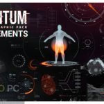 VideoHive Quantum HUD Infographic for After Effect Free Download-GetintoPC.com