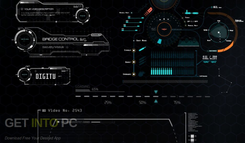 VideoHive Quantum HUD Infographics for After Effects. Direct link Download-GetintoPC.com