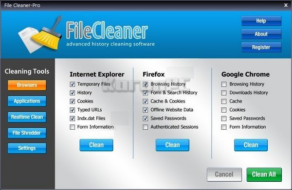 Download WebMinds FileCleaner serial key
