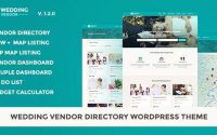 Wedding Vendor v1.2.1 – Vendor Directory WordPress Theme