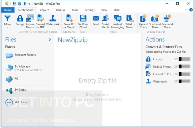 WinZip Pro 22 Direct Download Link