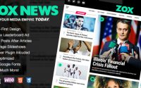 Zox News v3.1.1 – Professional WordPress News