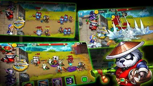 Defender Heroes: Defense Castle TD Apk