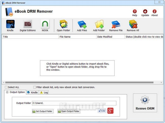 free download ebook drm removal
