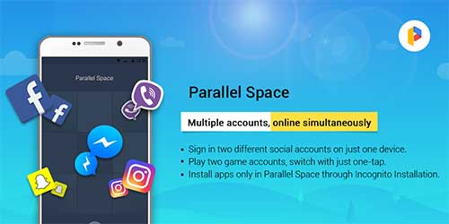 Parallel Space - Multi-accounts